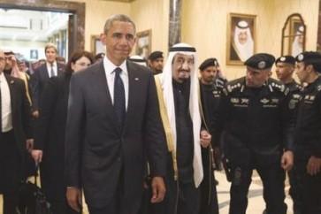 الملك السعودي سلمان بن عبدالعزيز والرئيس الأميركي باراك أوباما